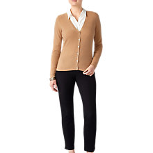 Buy Pure Collection V-Neckline Cashmere Cardigan Online at johnlewis.com