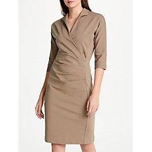 Buy Winser London Grace Miracle Dress, Coffee Online at johnlewis.com
