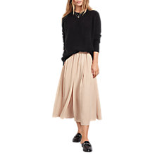 Buy hush Marina Metallic Skirt, Dusty Pink Online at johnlewis.com
