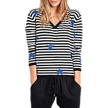 Buy hush Liberty Stripe Jumper, Multi Online at johnlewis.com