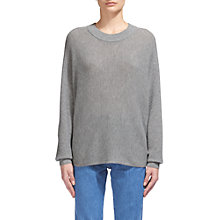 Buy Whistles Dolman Horizontal Knitted Jumper Online at johnlewis.com