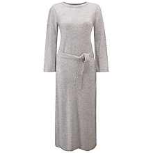 Buy Pure Collection Knitted Cashmere Dress, Heather Dove Online at johnlewis.com