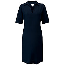 Buy Pure Collection Silk Tunic Dress, Midnight Online at johnlewis.com