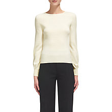 Buy Whistles Blousson Sleeve Merino Wool Jumper Online at johnlewis.com
