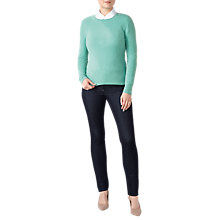Buy Pure Collection Crew Neck Cashmere Jumper Online at johnlewis.com