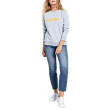 Buy hush Amour Sweat Top, Multi Online at johnlewis.com