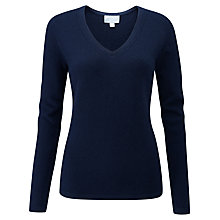 Buy Pure Collection V-Neck Cashmere Sweater Online at johnlewis.com