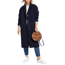 Buy hush Christie Coat, Midnight Online at johnlewis.com