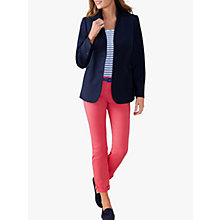 Buy Pure Collection Tailored Blazer, Navy Online at johnlewis.com
