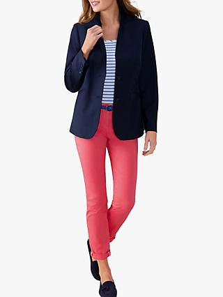 Pure Collection Tailored Blazer, Navy