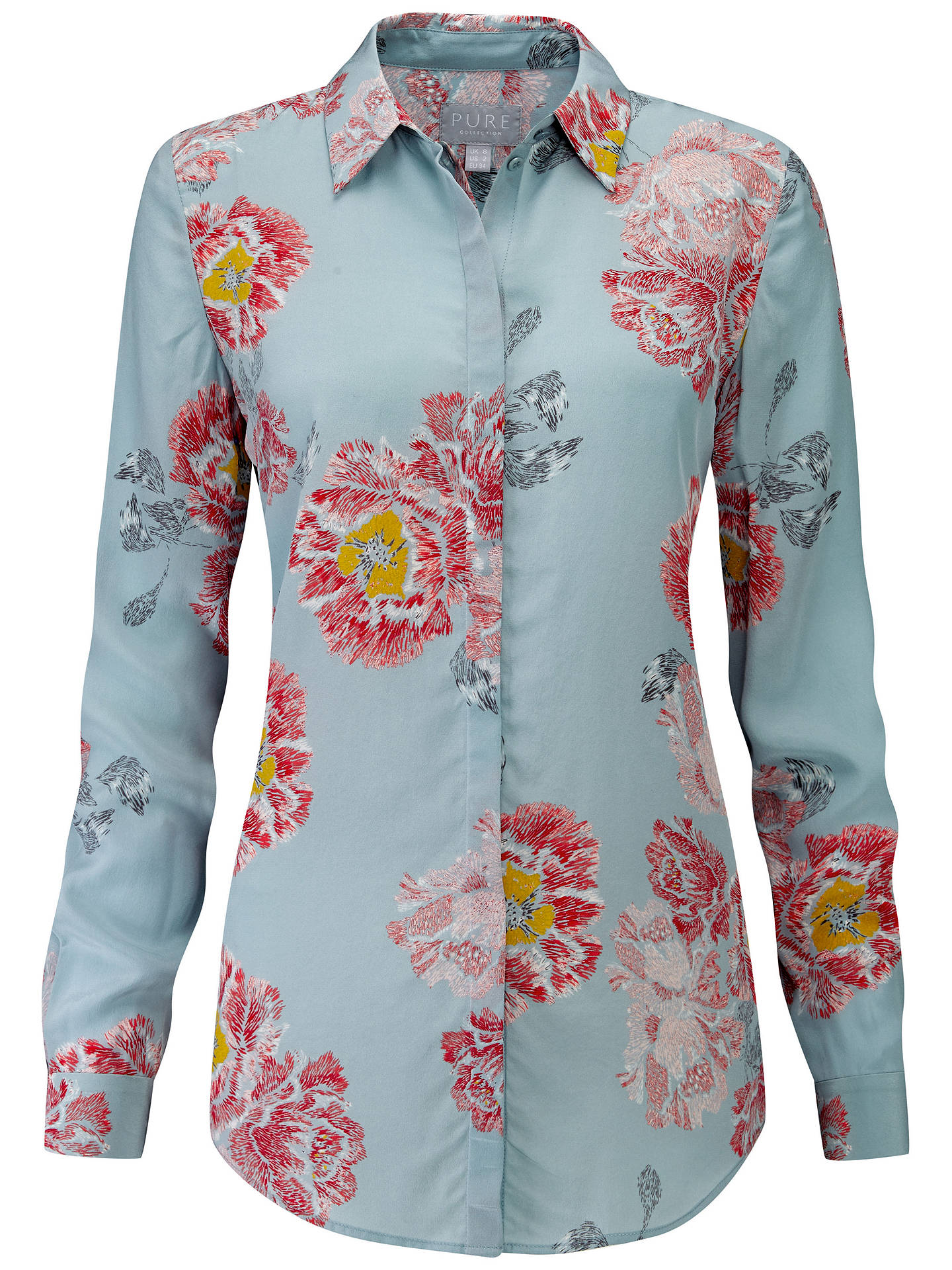 2c96e4b2414 Buy Pure Collection Washed Silk Blouse