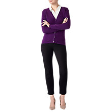Buy Pure Collection V-Neck Cashmere Cardigan Online at johnlewis.com