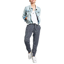 Buy hush Amie Stripe Joggers, Multi Online at johnlewis.com