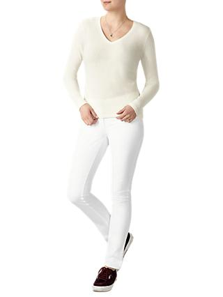 Pure Collection V-Neck Cashmere Sweater