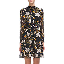 Buy Whistles Belize Printed Silk Dobby Dress, Multi Online at johnlewis.com