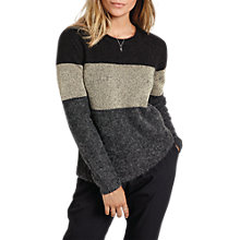 Buy hush Metallic Colourblock Jumper, Multi Online at johnlewis.com