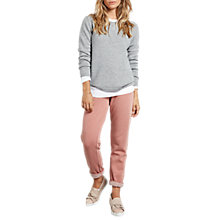 Buy hush Washed Joggers, Brick Online at johnlewis.com