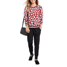 Buy hush Floral Fleur Jumper, Multi Online at johnlewis.com