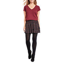 Buy hush Oslo Stars and Stripes Skirt, Black Online at johnlewis.com