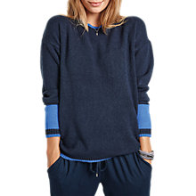 Buy hush Two Tone Jumper, Multi/Blue Online at johnlewis.com