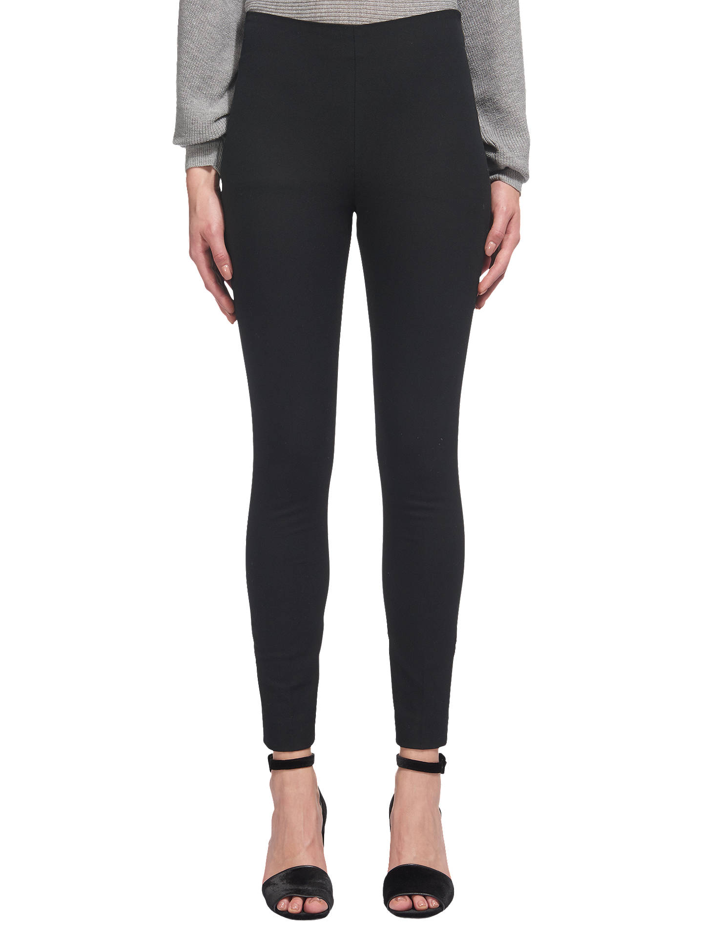Whistles Super Stretch Trousers, Black. by Whistles