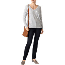 Buy Pure Collection Boyfriend Cashmere Jumper, Star Online at johnlewis.com