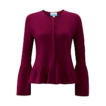 Buy Pure Collection Fluted Sleeve Cashmere Cardigan Online at johnlewis.com