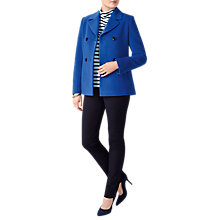 Buy Pure Collection Wool Peacoat Online at johnlewis.com