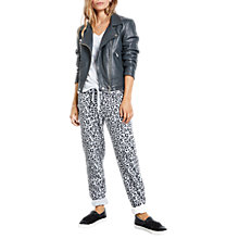Buy hush Morgan Leopard Print Joggers, Multi Online at johnlewis.com