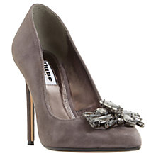 Buy Dune Bardot Jewelled Stiletto Heeled Court Shoes Online at johnlewis.com