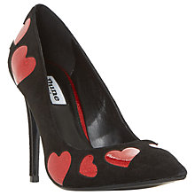 Buy Dune Be Loved Stiletto Heeled Court Shoes, Black Online at johnlewis.com