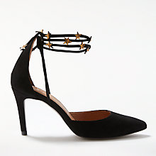Buy AND/OR Abana Star Detail Lace Up Court Shoes Online at johnlewis.com