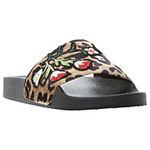 Buy Steve Madden Patches Slider Sandals Online at johnlewis.com