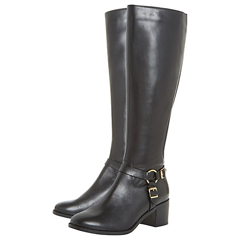 Buy Dune Vicky Block Heeled Knee High Boots Online at johnlewis.com