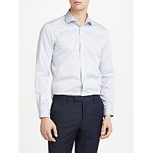 Buy John Lewis Non Iron Cotton Twill Slim Fit Shirt Online at johnlewis.com