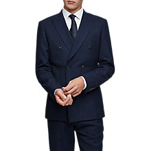 Buy Reiss Jansen Double Blazer Jacket, Indigo Online at johnlewis.com
