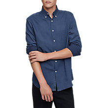 Buy Reiss Benzet Shirt, Indigo Online at johnlewis.com