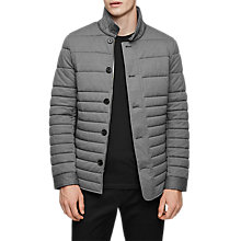Buy Reiss Melbourne Jacket, Grey Melange Online at johnlewis.com