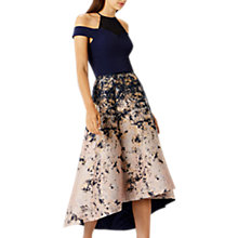Buy Coast Azure Marble Jacquard Skirt, Multi Online at johnlewis.com