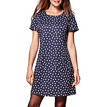 Buy Yumi Daisy Print Tunic Dress, Black Online at johnlewis.com
