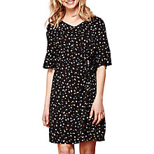 Buy Yumi Spot Jersey Dress, Black Online at johnlewis.com