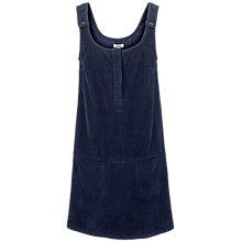 Buy Fat Face Bianca Cord Dress, Navy Online at johnlewis.com