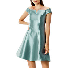 Buy Coast Armelle Bardot Dress, Green Online at johnlewis.com