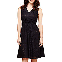 Buy Yumi Lace Midi Dress, Black Online at johnlewis.com