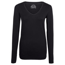 Buy Fat Face Cassie V-Neck Long Sleeve T-Shirt Online at johnlewis.com