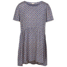 Buy Fat Face Emeline Retro Tile Tunic Dress, Indigo/Multi Online at johnlewis.com