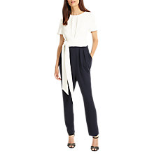 Buy Phase Eight Bronwyn Jumpsuit, Navy/Ivory Online at johnlewis.com