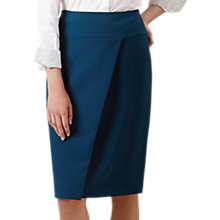 Buy Hobbs Mylene Skirt, Teal Online at johnlewis.com