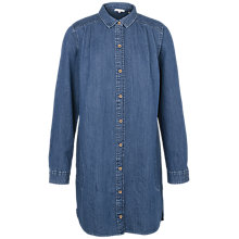Buy Fat Face Isla Denim Shirt Dress, Denim Online at johnlewis.com