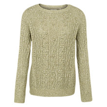 Buy Fat Face Lottie Cable Knit Jumper Online at johnlewis.com